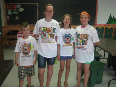 Jellystone Niagara Day Camp Craft T-Shirts